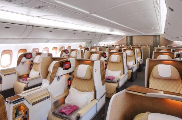 Emirates обновил бизнес-класс!