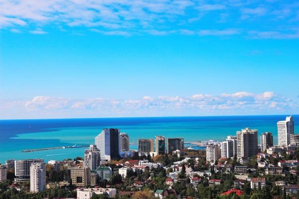 Более полумиллиона туристов побывали в Сочи