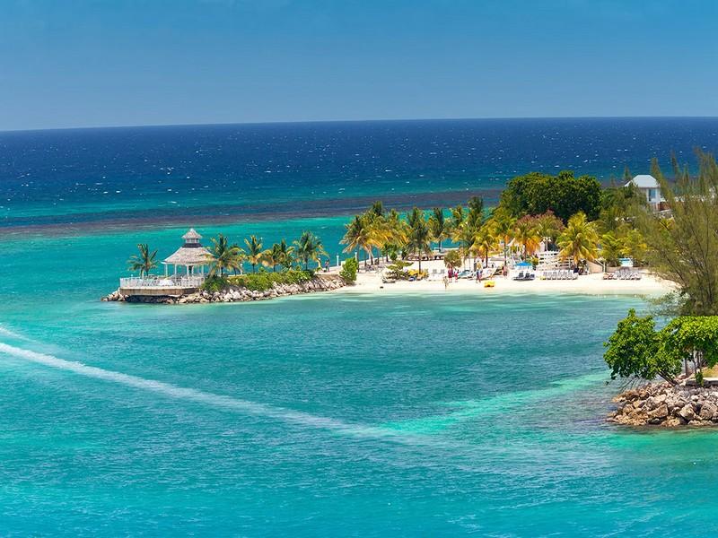 картинка фотография курорта Очо-Риос на Ямайке
